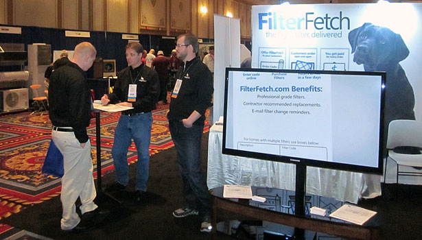 Jackson Systems introduced Filter Fetch at the Indoor Air Expo.