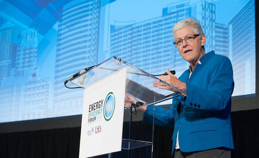 2016 Energy Efficiency Forum Gina McCarthy