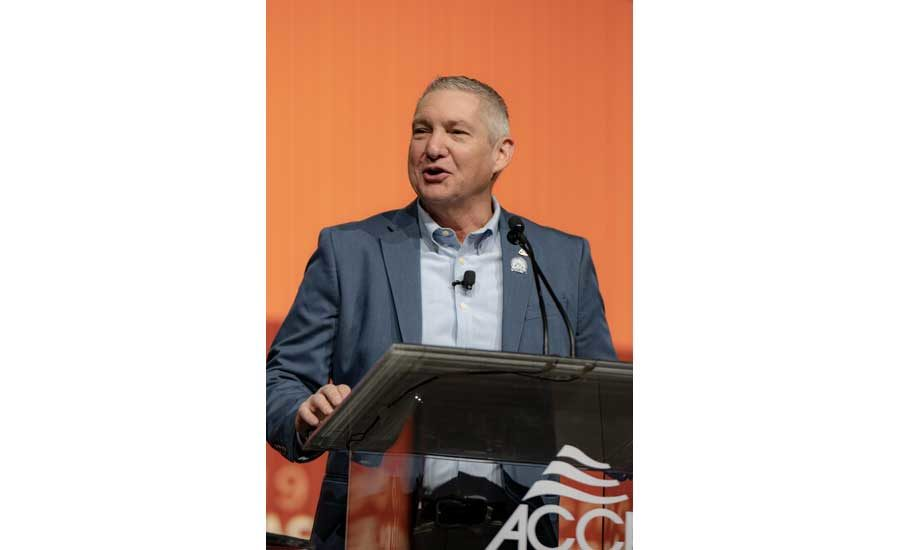 Acca conference 2019 achr news 01.jpg?alt=acca+immediate+past+chairman%2c+steve+schmidt%2c+addresses+the+crowd+in+the+opening+session