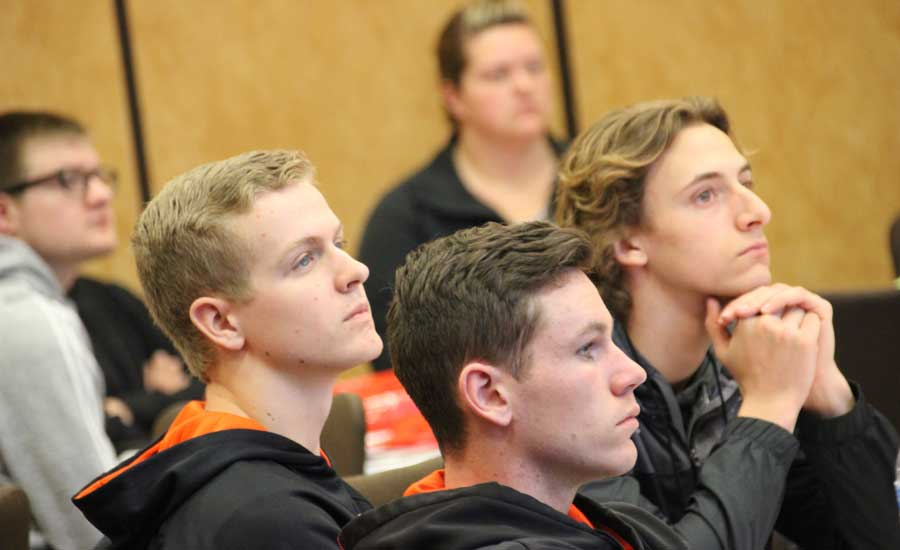 2019 Lennox VisionTECH Conference: High schoolers hear about the benefits of working in the HVAC industry. - The ACHR News