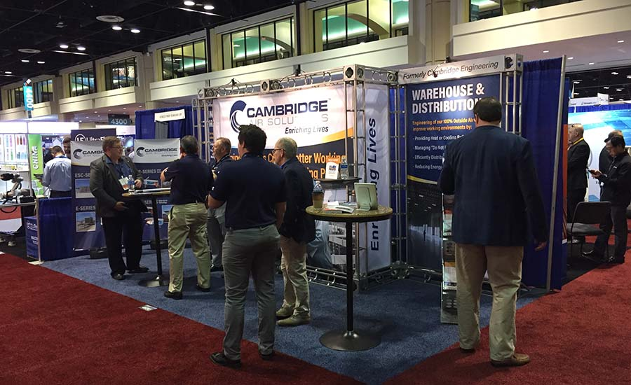 Cambridge Air Solutions at AHR Expo 2020.
