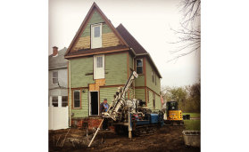 Detroit geothermal homes