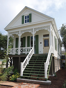 Galveston home rebuild