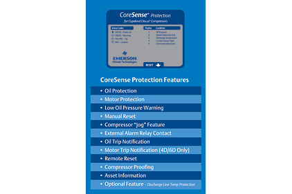 CoreSense protection features