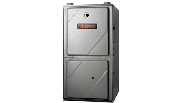 Amana modulating gas furnace