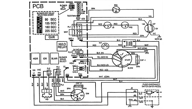 troubleshooting challenge: a gas furnace that won't fire | 2011-11-07 | achrnews old carrier gas furnace wiring diagram
