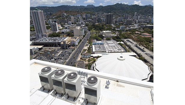 Kapiolani Hotel Roof Units