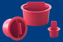 center pull tapered plastic plugs