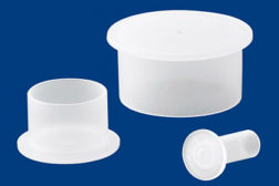 flanged polyethylene caps