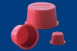tapered polyethylene plug caps