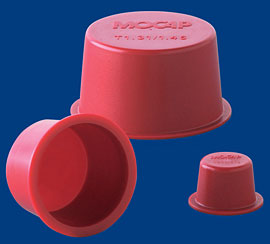 tapered polyethylene plug caps