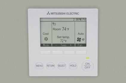 Mitsubishi Electric Cooling U0026 Heating: Commercial Systems Remote Controller
