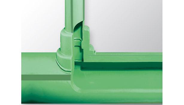 polypropylene cutaway