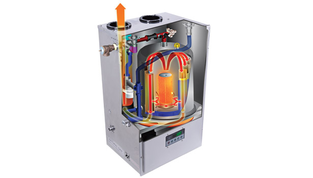 hybrid water heating system