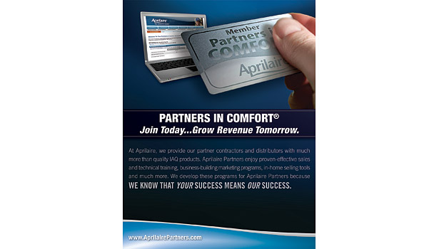 Partners in Comfort brochure