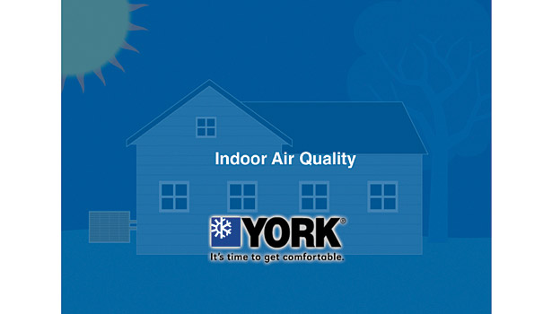 York IAQ intro screen