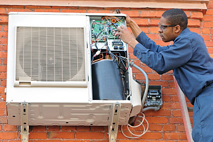 installing a wall-mounted ductless air conditioner