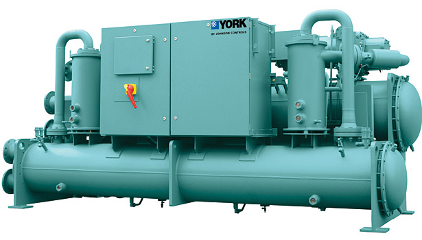 YORK YVWA Water-Cooled Screw Chiller with Variable-Speed Drive