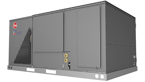 Rheem H2AC Rooftop Unit featuring eSync Integration Technology
