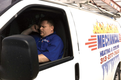 technician in service van