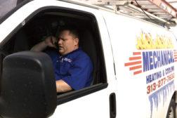 technician in service van
