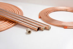 copper tubing and fittings