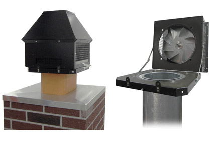 Gas- and Oil-Fired Heater Rooftop Inducers
