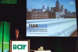 Bruce Badger, president of IIAR