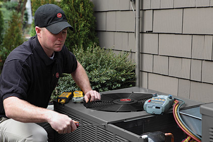 installing an a/c system