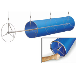 Fabric Duct Tensioning System