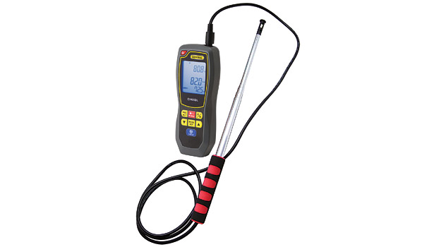 Data Logging Hot Wire Anemometer/IR Thermometer