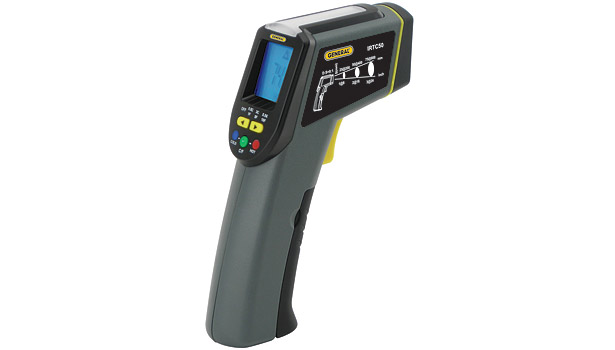 8:1 Energy Audit IR Thermometer/Scanner with Star Burst Laser Targeting