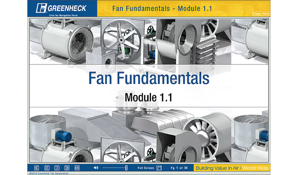Fan Fundamentals 1 Online Training