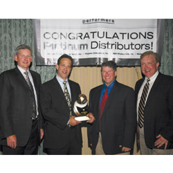 Meier Supply accepts Ruud award