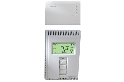 Residential Wireless Thermostat and Receiver