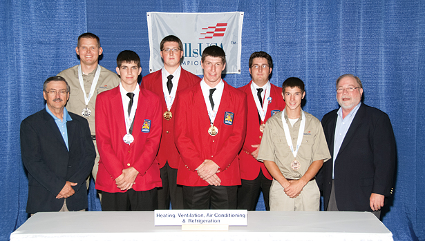 HVACR recognition at SkillsUSA