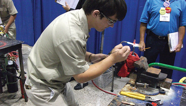 brazing competition