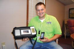 Josh Huck shows compact connectivity kit