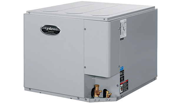 Hydron Module Revolution Series HRT geothermal outdoor split unit