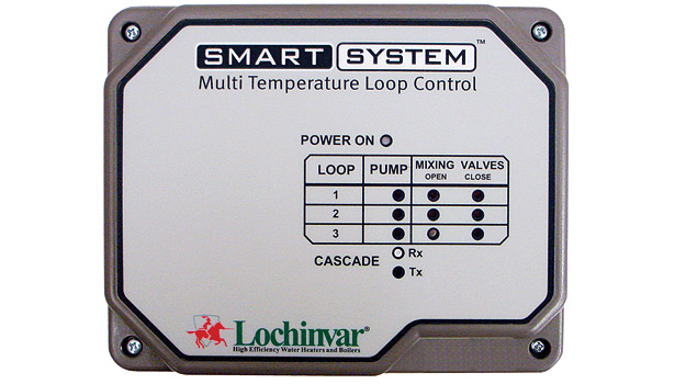 Lochinvar Knight boiler with Multi Temperature Loop Control