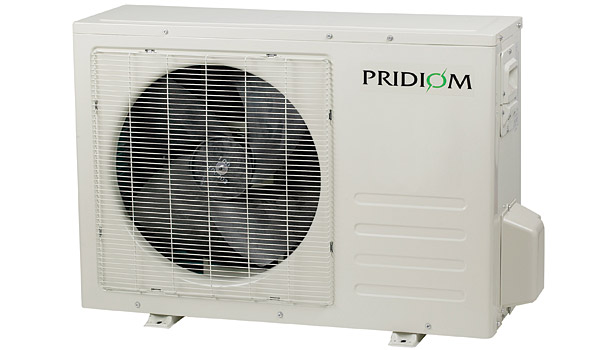 Pridiom Solar-powered ductless mini-split