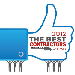 Best Contractor to Work For Contest logo