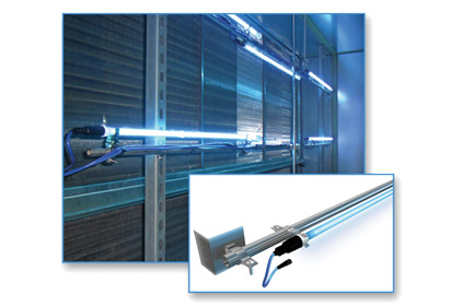 commercial UV light rack system