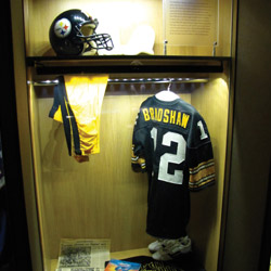 Terry Bradshaw's football uniform
