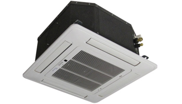 mini-split heat pump ceiling cassette