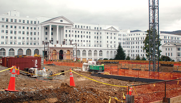 Greenbrier Casino Club project