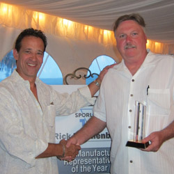 Manufacturer Rep of the Year award