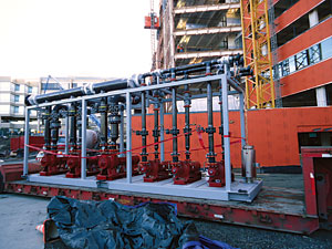 HVAC pump skids for Seattle Children's Hospital
