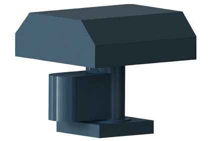 Fiberglass Hooded Roof Ventilators