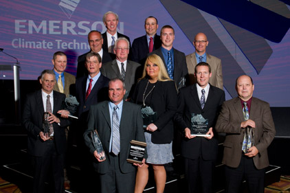 Emerson Climate Technologies awards top-performing wholesalers
